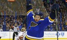 Sentluisas 'Blues' krievu hokejistu Tarasenko atzīst par aizvadītās nedēļas NHL labāko spēlētāju