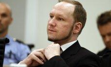 Norvēģija pārsūdz spriedumu par Breivika cilvēktiesības pārkāpjošajiem ieslodzījuma apstākļiem