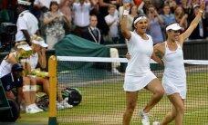 Martina Hingisa ar savu indiešu pārinieci jau kvalificējušās WTA čempionātam