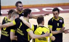 'Poliurs/Ozolnieki' volejbolisti panāk izšķirošo spēli Latvijas čempionāta finālsērijā