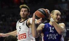 'Real' un 'Olympiacos' basketbolisti kā pēdējie sasniedz ULEB Eirolīgas finālčetrinieku
