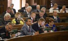 Valsts prezidenta atklāta ievēlēšana gūst konceptuālu Saeimas deputātu atbalstu