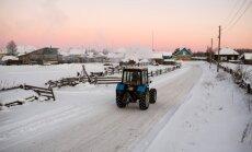 Foto: Anglijā, Alpos, Krievijā un Skandināvijā jau krājas kupenas