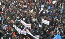 Krievijā būs bargāki sodi par pārkāpumiem protestos