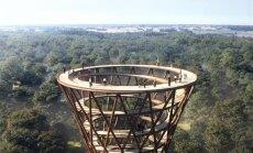 ФОТО. В Дании строится деревянная тропа, которая ведет прямо на небо