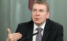ES gatava pastiprināt sankcijas, ja situācija Ukrainā pasliktināsies, pauž Rinkēvičs
