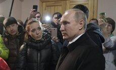 Владимир Путин прибыл к месту пожара в Кемерово