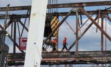 Leons Stiprais: Somijā veikta unikāla dzelzs tilta demontāžas operācija