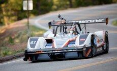 'Drive eO' pilots Rīss Millens: šogad Paikspīkā varam labot pasaules rekordu