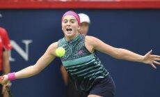 Ostapenko un Sevastova uzzina savas pirmās pretinieces 'US Open'