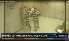 Bariņš ieslodzīto ASV izlaužas, lai sniegtu palīdzību slimam cietumsargam