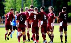 Latvijas U-19 futbolisti Baltijas kausā cīnās neizšķirti ar Lietuvas vienaudžiem