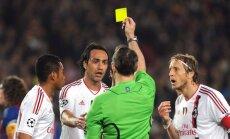 'AC Milan' treneri un spēlētāji masveidā kritizē tiesneša rīcību
