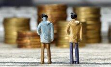 Pērn privātajā sektorā 21% algu izmaksātas aploksnēs