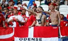 ФИФА оштрафовала Данию за сексизм и поведение ее фанатов