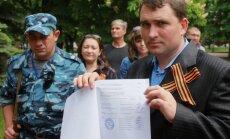 'Referendumā' piedalījušies 100,63% Doņeckas iedzīvotāju, sarēķinājis 'Independent'