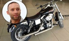 Reperis Gacho atrāda stilīgu 'Harley-Davidson'