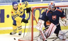 Mājinieki zviedri PČ piedalīsies ar sešiem NHL un pieciem KHL hokejistiem