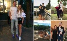 Kopā priekos un bēdās: mīļotās, kuras atbalsta Latvijas izlases basketbolistus