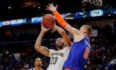 Porziņģis Jauno gadu sagaidījis otrajā vietā NBA šīs sezonas labāko bloķētāju sarakstā