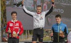 Orientierists Pauliņš kļuvis par 'Cēsu sprinta' pieckārtēju uzvarētāju