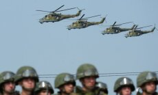 Krievija netālu no Latvijas un Igaunijas robežas sāk armijas helikopteru mācības
