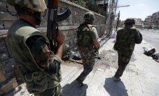 Sīrija: Nemiernieku apbruņošana ir 'kūdīšana uz slepkavību'