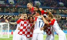 Horvātijas futbolisti droši uzvar Nigēriju