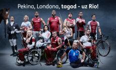 Paralimpieši tomēr tiks pie vienotiem tērpiem Rio spēļu parādei