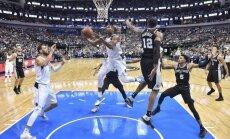 Bertāns nospēlē pusotru minūti 'Spurs' zaudējumā 'Timberwolves' komandai