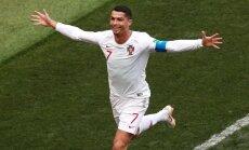 Рикошет помог Испании обыграть Иран; Роналду побил рекорд великого Пушкаша