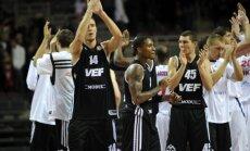 'VEF Rīga' ar uzvaru pār Valtera pārstāvēto 'Artland Dragons' komandu sāk dalību Eiropas kausā