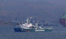 Krievijai par 'Greenpeace' kuģa sagrābšanu jāmaksā 5,4 miljoni eiro