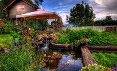 Lai lietus un vējš nebiedē! Kā izvēlēties dārza nojumi