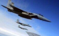 NATO lidmašīnas septiņkāršojušas lidojumus virs Baltijas jūras, paziņojis Krievijas ģenerālis