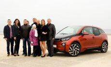 Latvijā pirmais pārdotais 'BMW i3' elektromobilis nonāk Jūrmalā
