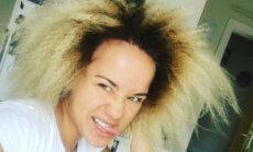 Aija Andrejeva publicē nebēdnīgu foto