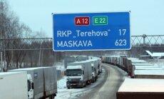 Valdība atsakās no ieceres smago auto rindu administrēšanu uz robežas uzticēt 'Latvijas Auto'