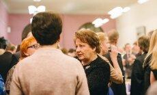 Foto: Kā premjere, deputāti un zinātnieki LU Absolventu klubu atklāja