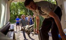 Cīņās pret separātistiem pie Doņeckas un Luhanskas krituši 16 Ukrainas karavīri