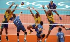 Riodežaneiro vasaras olimpisko spēļu vīriešu volejbola turnīra ceturtdaļfinālu rezultāti (17.08.2016.)