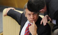 Krievijas deputāts pēc Rinkēviča izteikumiem rosina ieviest sankcijas pret Latviju