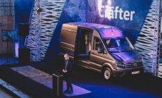 Foto: Latvijā prezentēts jaunais 'VW Crafter' komerctransports