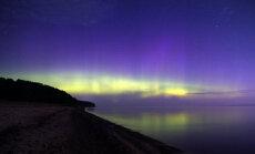 Foto: Latvijas debesis trešdien rotā ziemeļblāzma
