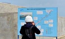 Forbes: финансирование строительства Керченского моста приостановлено