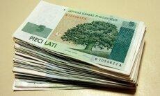 Uz Latvijas Banku atnestas sīkās strēmelēs sagrieztas banknotes ap 1000 latu vērtībā