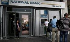 Grieķijas Banku asociācija noraida ziņas par noguldījumu konfiskācijas iespējamību