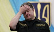 No Ukrainas izvesti 70 % Krievijas karavīru, paziņo Porošenko