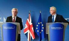 ES: sarunas par 'Breksita' pārejas periodu var notikt, ja ir atrisināti pamatjautājumi