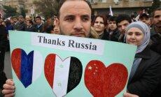 Diplomāti: Krievija bloķējusi ANO Drošības padomes paziņojuma projektu par situāciju Kusairā